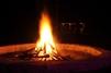 Modin Camp Fire Evening