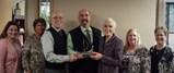 Accepting Viking River Award