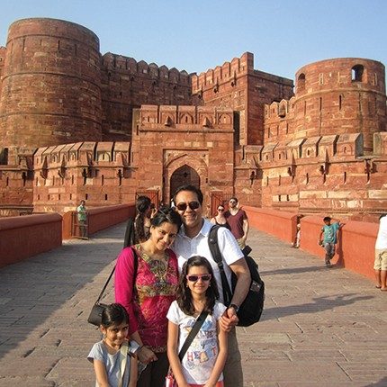 With Help Of Travel Advisor One Family Crafts Lifetime Memories - India vacation