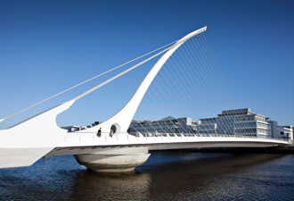 The Docklands in Dublin